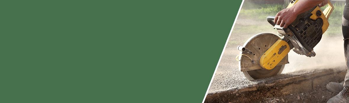 ניסור בטון - סליידר צד ימין