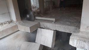 ניסור בטון רצפת מקלט בחולון