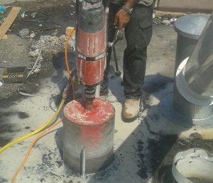 קידוח בטון בטחנת קמח דגן