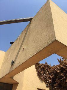 ניסור בטון פרגולת בטון בהוד השרון