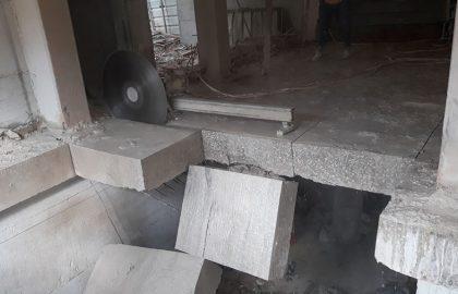 ניסור בטון מקלט בחולון