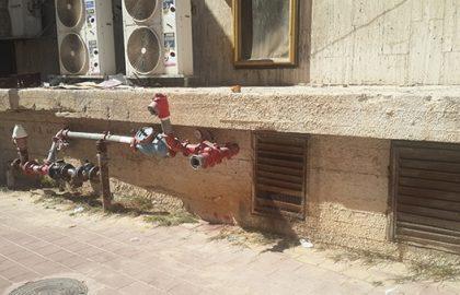 ניסור בטון ברחוב השומר בבני ברק