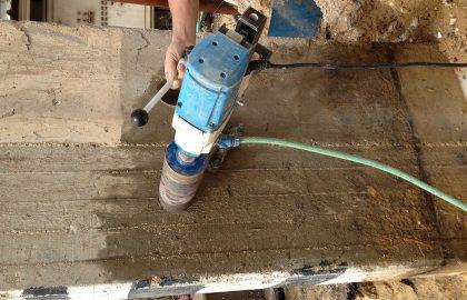 מה הפעולות שצריך לבצע לפני פעולת ניסור בטון או קידוח בטון?